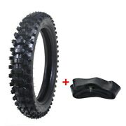 110/90- 18 Inch Rear Back Big Knobby Tyre Tire +tube For Dirt Bike Off-road