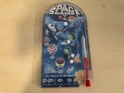 Old Vtg Toy Arcade Toy Pinball Space Game Astronut Planet Rocket Design