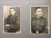 Rare Ww2 German Soldiers Photo Album 75 Photo Luftwffe And Wehrmacht Army Pic Lot