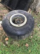 3 Jumbo Jet Aircraft Wheels And Tires I Have Three Wheels And Tires Available.