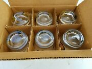 Nos 1950s 60s Chevrolet Chevy Drink Glasses Coins Around The World Set Of 6 B25