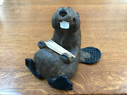 Singing Tree Chip The Beaver Figurine By Jeff Fleming