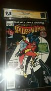 2x Signed 9.8 Spider-woman 1st Series 1 1978 Cgc Ss - Stan Lee And Marv Wolfman
