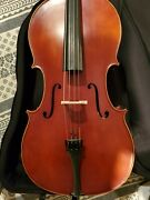 Frank Denti Cello Model 16459 Mint Condition Spruce Top Flamed Maple Back
