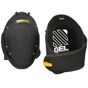 Toughbuilt Knee Pads Professional Gel Fit Snapshell Comfort Rugged Construction