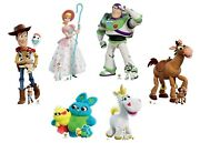 Toy Story 4 Official Disney Lifesize Cardboard Cutout Collection - Set Of 6