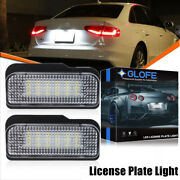 18-smd Error Free Led License Plate Light Lamp For Mercedes-benz C E Cls Class
