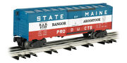 Williams By Bachmann 47049 O Scale 40' Bangor And Aroostook State Of Maine Boxcar