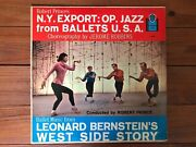 Robert - Jazz From Ballets Usa/ballet From West Side Story 1958 Vinyl Nm-