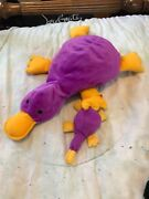 Patty The Platypus 1993 Beanie Babies Collectible Set