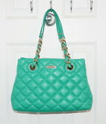 Kate Spade Gold Coast Small Maryanne Quilted Leather Bag Verna Green Pxru2292