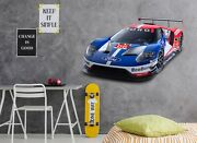 3d Ford I72 Car Wallpaper Mural Poster Transport Wall Stickers Angelia