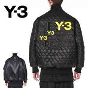 Y-3 Over-size Reversible Bomber Quilted Jacket Yohji Yamamoto Mens