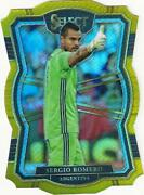 2017-2018 Panini Select Soccer Mezzanine Die-cut Gold Parallel Numbered To /10