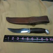 Vintage Case Xx Usa 323-5 Hunting Skinning Bowie Knife--mint
