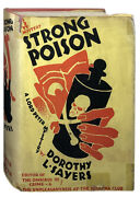 Dorothy L Sayers / Strong Poison First Edition 1930