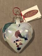 Classic Heart Ornament By Glass Eye Studiomade In The Usarare