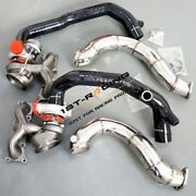 Td04-16t Turbos+2 Inlets+3 Exhaust Downpipe For Bmw 335i 3.0l N54 2007-2010