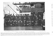 1896 Lord Walter Kerr And His Officers On The Majestic