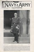 1897 Antique Military Print-rear Admiral Ernest Rice
