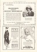 1914 Antique Print- Ww1-advert- Crawfordand039s Shortbread Savory And Moores