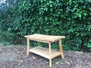 Long Outdoor Teak Shower Seat Bench With Shelf Wooden Bathroom Stool Spa Chair