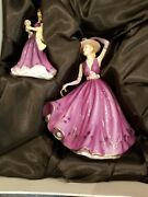 Royal Doulton Emma And Erin Figure Of The Tear 2011 Pretty Ladies New In Box
