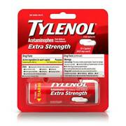 Tylenol Pain Reliever Fever Reducer Caplets 10count Case Of 12 Of 12 Pack