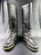 Ww2 Vtg German Army Elite Motorcycle Krad Boots - Honved Tank Officers Boots