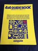 Jdm 4x4 Magazine And03992 Guide Book Suv Offroad Parts And Accessories Catalog Bible