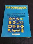 Jdm 4x4 Magazine And03993 Guide Book Suv Offroad Parts And Accessories Catalog Bible