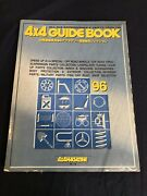 Jdm 4x4 Magazine And03996 Guide Book Suv Offroad Parts And Accessories Catalog Bible