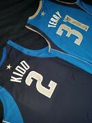 2007-08 Jason Kidd Game Issued/worn And Signed Dallas Mavs Jersey Ty Lue Loa