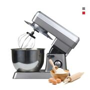 Large Size Food Mixers Stainless Steel High Power Household Cream Machine 1200w