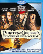 Pirates Of The Caribbean The Curse Of The Black Pearl 2-disc Blu-ray Sealed