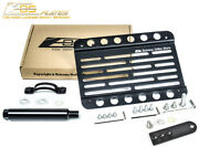Eos Plate Tow Hook License W/ Lowering Bracket For 09-12 Benz R230 Sl-class Pdc
