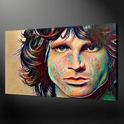Jim Morrison Music Legend Wall Art Canvas Print Picture Free Uk Delivery