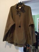 Military Polartec Size Medium Cold Weather Shirt Pull Over...free Shipping