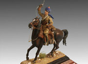 British Officer Of 2nd Lancers Regiment Tin Painted Toy Soldier Pre-sale   Art