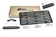 Eos Plate Full Sized Tow License Mount Lowering Bracket For 12-16 R231 Sl-class