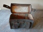 Vtg Wwii German Sa 1934 Bayern Munchen Field First Aid Leather Medic Pouch Case