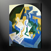 Mandoline Juan Gris Canvas Print Picture Wall Art Free Fast Delivery