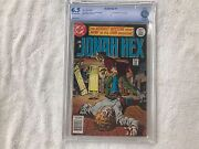 Jonah Hex 1 - Cbcs 6.5. Offwhite/white Pages. 1st Jonah Hex In His Title.
