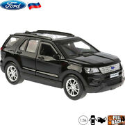 Diecast Vehicles Scale 136 Ford Explorer Russian Model Toy Car