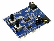 Rare Openmusiclabs Audio Codec Shield Arduino Maple Dsp Audio Input And Output