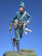 Confederate Officer At Battle Of Appomattox Painted Toy Soldier Pre-sale | Art