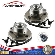 Pair 2 Front Wheel Hub Bearing Assembly For Ford Explorer Mercury Mountaineer