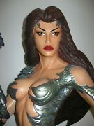 Moore Creations Witchblade Statue 12 Scale Clayborn Top Cow Figurine 4 Ft Tall