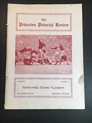 The Princeton Pictorial Review 1915 Harvard Game Rare College Football