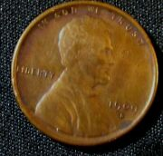 1909-s San Francisco Mint Vdb Key Date Lincoln Wheat Cent Penny